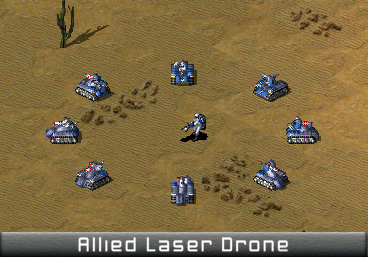 Allied Laser Drone Ingame.png
